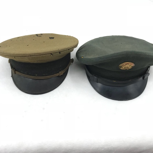 6182c820a11 Vintage military hats. M 5be24c57c61777cca178be20